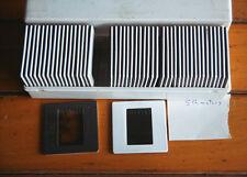 47 GEPE- 3mm- Glas- Diarahmen mit Dias , für 24 x 36- Dias; schmutzig