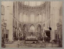 France église Cathédrale Art gothique Vintage albumine ca 1880