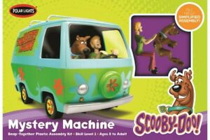 NEW 1:25 Scooby Doo Mystery Machine Plastic (Snap)Kit Movie from Mr Toys