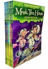 Magic Tree House Series Collection 5 Books Set Children Gift Pack Moon Mission
