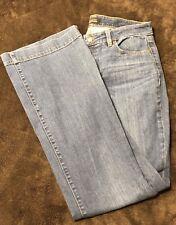 Women's Jeans Talbots Size 6 Flare Curvy 5 Pocket Medium Wash P6