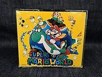 Super Mario World CD Soundtrack Super Nintendo SNES Japan USED
