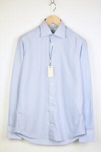 RRP$99 SUITSUPPLY TRAVELLER BLUE LINE Men 39/ 15 1/2 Slim Formal Shirt 21863*