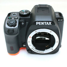 PENTAX K-S2 20.1MP Digital SLR Camera Body Black & Orange Excellent from Japan