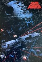Star Wars Rare Millennium Falcon 1991 Vintage Out Of Print Poster 23 1/2 X 34 1/