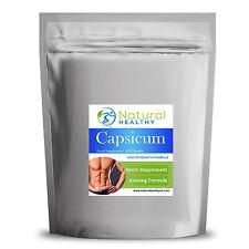 Capsicum 1000mg capsules - weight loss pills - UK Supplement 60 capsules