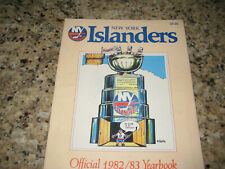 New York Islanders 1982-1983 NHL Ice Hockey Official Yearbook