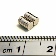 Small &  Strong Disc Magnets 3mm x 1mm Tiny Round Magnet * 125g PULL *
