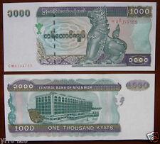 Myanmar / Burma Paper Money 1000 Kyats Unc, Older Edition