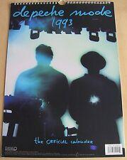Depeche Mode Official 1993 Calendar Poster Violator Tour Photos by Anton Corbijn