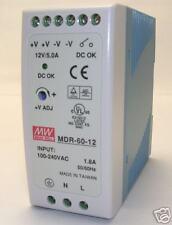 60W Single Output 12V Industrial DIN Rail Power Supply