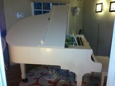 KOLHER & CAMPBELL BABY GRAND PIANO - Hard-to-Find HIGH GLOSY WHITE