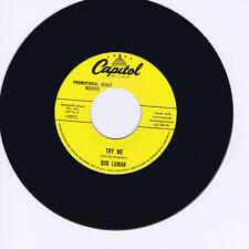BOB LUMAN - TRY ME / BOSTON ROCKER - 2 FANTASTIC ROCKABILLY DANCERS