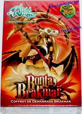 Deck de cartes WAKFU starter BONTA & BRAKMAR paquet SRAM DOFUS Ankama cards NEUF