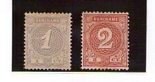 Surinam valores del año 1890-92 (U-87)