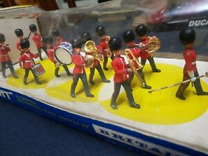 Very Rare Britain's EYES RIGHT Boxed Scots Guard Marching Band