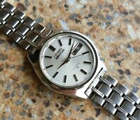 Rare Seiko 5 Actus 21 Jewels Automatic 7019 8010 Kanji December 1969 NHK Watch