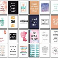 Motivational Quotes for Success Framed Prints Wall Art Student Inspiration Print