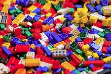 1 Pound of used Lego Building Toy Pieces With 1 Mini Figure, washed and sorted