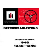 Betriebsanleitung Bedienungsanleitung IHC 946 + 1046 + 1246