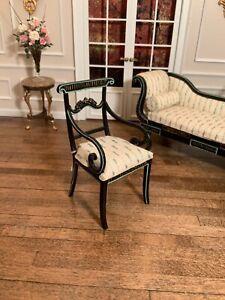 Dollhouse Miniature Bespaq Ladies Arm Chair
