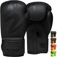 RDX Gants de Boxe Muay Thai KickBoxing Sparring Sac Frappe Entrainement Combat