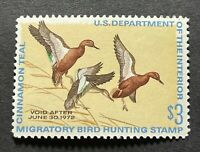 WTDstamps - #RW38 1971 - US Federal Duck Stamp - Mint H
