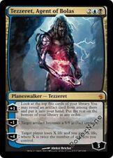 1 FOIL Tezzeret, Agent of Bolas - Gold Mirrodin Besieged Mtg Magic Mythic Rare 1