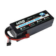 HRB 11.1V 6000mAh 50C 3S LiPo Battery For 1/10 Stampede Slash 4x4 Rustler VXL