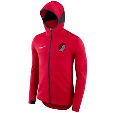PORTLAND TRAIL BLAZERS Showtime Hoodie Nike NBA Dry Full-Zip Jacket Mens L LARGE
