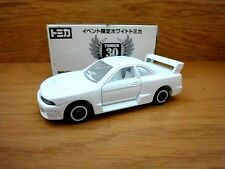Rare TOMICA 30th ANNIV. Event Ver. NISSAN SKYLINE GT-R  R33 WHITE 1/60 & Sticker