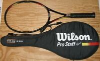 Wilson Pro Staff Classic 95 4 3/8 6.1 si Midplus MP Tennis Racket Cover New Grip