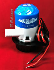 Boat Yacht Watercraft 12V Electric Marine Submersible Water BILGE PUMP 800 GPH