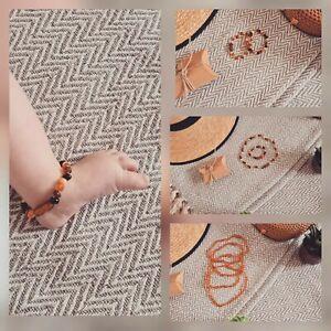 Genuine Baltic Amber kids Bracelets/anklets