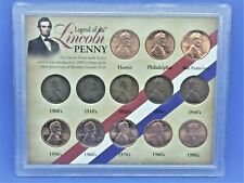 American Historic Society #4514 Legend of the 13 Lincoln Penny Coin Set