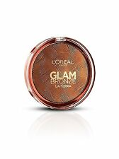 L'Oreal Glam Bronze Bronzer Powder 18g 03 Medium La Terra Amalfi-Medio NEW