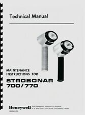 Honeywell Strobonars 700 770 Electronic Flashes (1969) Service & Repair Manual
