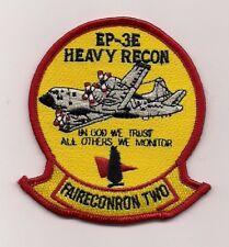 Usn Vq-2 Ep-3E Heavy Recon patch Fleet Air Reconnaissance Sqn