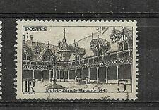 Timbres YT 499 MI 532 Hôtel-Dieu Beaune 1941 Oblitéré