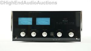 McIntosh MC 2105 Stereo Power Amplifier - Vintage Audio Classic