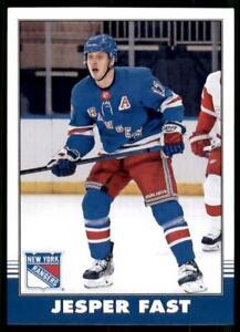 2020-21 UD O-Pee-Chee Retro #115 Jesper Fast - New York Rangers