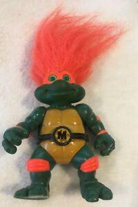 1993 TMNT Michelangelo Troll Teenage Mutant Ninja Turtles Playmates