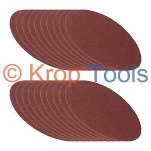 20 Multitool 115mm Round Sanding Sheets Makita Milwaukee DeWalt Bosch by KROP
