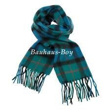 NECK SCARF TARTAN GUNN ANCIENT CLAN 100% PURE NEW LAMBSWOOL SCOTTISH KILT-WEAR