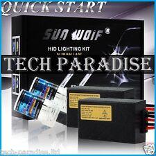 Kit HID Bi Xenon CanBus Anti Erreur H4 / H4-3 55W 6000K 12V allumage RAPIDE