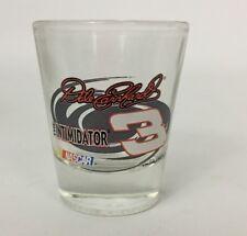 Dale Earnhardt 3 Nascar The Intimidator Shot Glass Barware