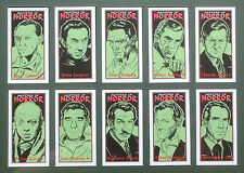MASTERS OF HORROR COMPLETE CARD SET LON CHANEY, VINCENT PRICE, NOSFERATU