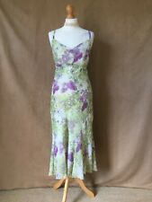 Per Una Ladies Lined Floral Special Occasion Summer Dress.Size 14L