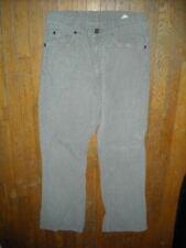 VTG 80S 29 X 29 LEVIS 517 CORDUROY DENIM JEAN GRAY CORD BOOT CUT PANTS