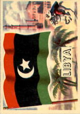 1956 A & BC Flags of the World Mini 64 Libya NM #D376410